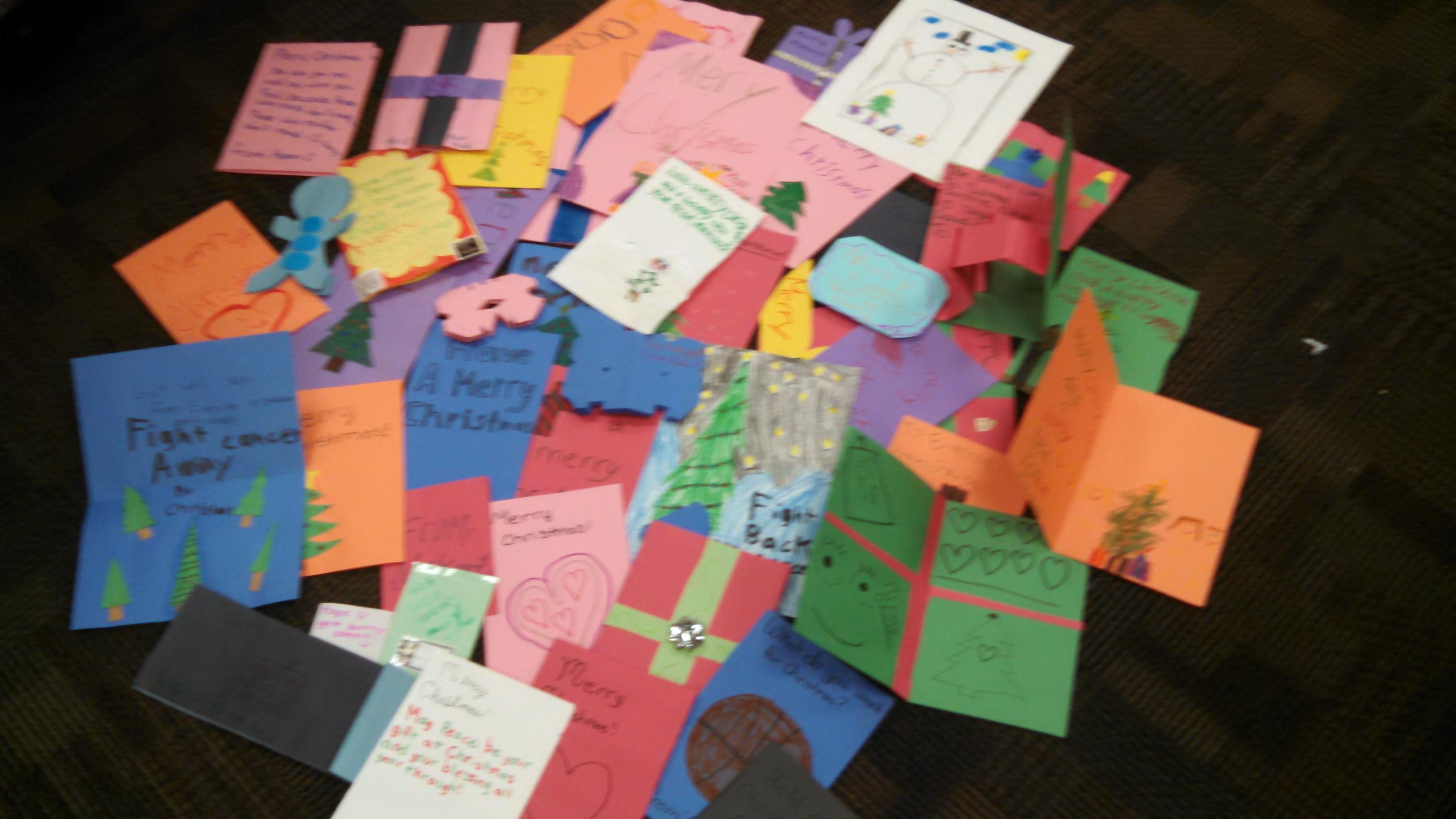 St. Jude\'s Christmas Cards | Fairbury Public Schools